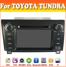 touch sreen car dvd player with GPS Navigation fit for TOYOTA TUNDRA 2007-2013 with radio bluetooth ipod toyota car dvd gps