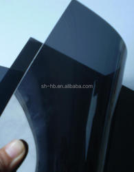 hot sale transparent pvc sheets black
