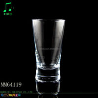 213ml thick bottom tansparent wholesale glass drinkware
