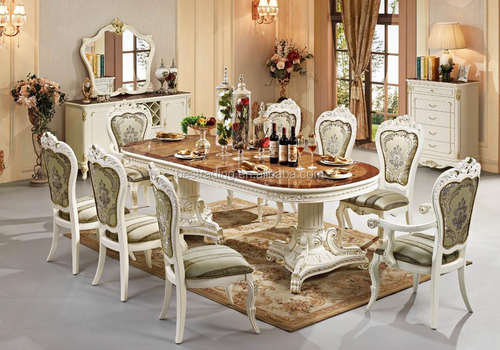 Extendable dining table muebles clásicos de madera tallada mesas ...