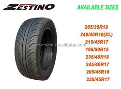 ZESTINO/LAKESEA wholesale used tires 195/50R15 racing/drift tire racing tyres UTQG 140/240/300AA A