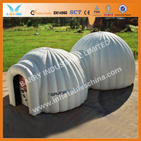 Best design with good quality and low price, hot sale Inflatable Mobile Building ,Hot-Selling Temporary Inflatable portable tent