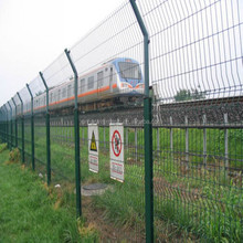 ISO9001,2015 High Quality New Product Powder Coated Railway Protection Fence.China Professional Factory