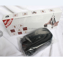 Bondage Sex Sling Suspending Swing with 360 Degree Rotation Metal Frame Packed in English High Quality Retail Box