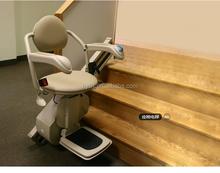 China , precio bajo de lujo de dos mástil hidráulico indoor escalera para discapacitados ascensor de tijera