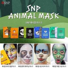 KOREA 4 New Styles Facial Mask SNP Animal Masks (Tiger,Panda,Otter,Dragon)