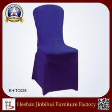 wholesale banquet spandex purple wedding chair covers