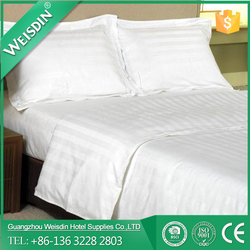 Jacquard new style polyester plain bed cover