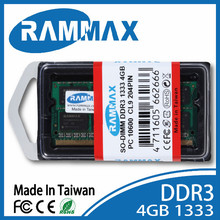 Rammax Full compatibility DDR3 SO 1333 4GB pc10600 Laptop memory module ram memoria