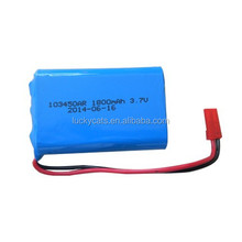 Rechargeable 3.7V 1800mAh Li-Polymer battery pack