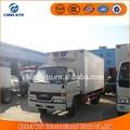 Geladeira caminhão 4 * 2 JMC congelador pequeno frigorífico caminhão, Geladeira usada para o caminhão