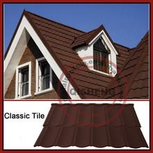 Good quality roof shingles tile for sale stone coated metal roof tile