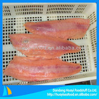 Russia original frozen fish fillet salmon
