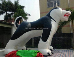 cheap Custom giant Inflatable wolf, advertising promotion inflatable model
