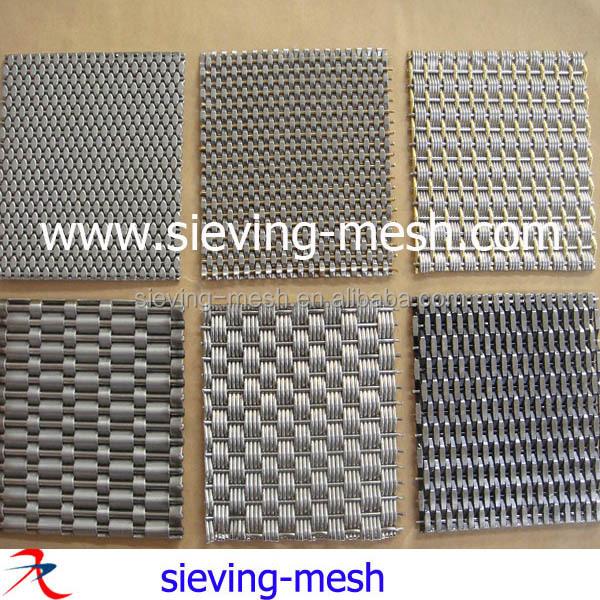 Stainless Steel/aluminum Honeycomb Decorative Wire Mesh ...