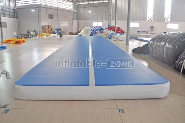 fábrica de ginástica trilho de ar inflável, esteira de ginástica ar inflável tumble track, trilha de ar inflável para a venda