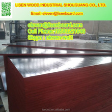 brown/black film faced finger joint plywood laminated board for construction