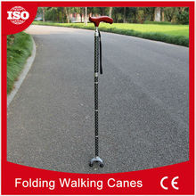 nternational brands of raw materials Folding customize engraving aluminum handcrafted walking sticks