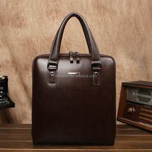 100% Genuine Leather Vintage Business Men Fashion Handbag