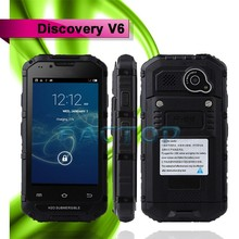 discovery v6 4.0 inch quad core good quality front and back camera smartphone