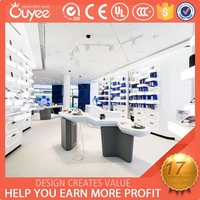 2015 new product decoration cell phone store mobile store design