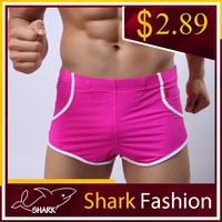 Shark Fashion young boy pink shorts athletic sport gym wear wholesale short shorts