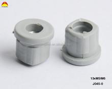 13*M5 round plastic thread end caps/thread insert/thread pipe plugs