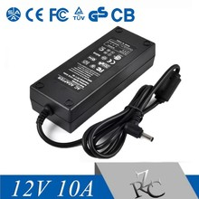 top quality 120W Universal power supply 12V10A for CCTV