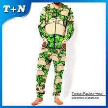 custom made animal jumpsuit fashion new design sport jumpsuit