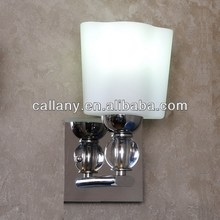 Home interior lamp glass wall light
