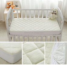 BABYS WATERPROOF BAMBOO TERRY CRIB MATTRESS PROTECTOR/SHEET