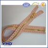 pink specialized zipper tape gold metal zipper