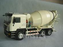 1:24 custom zinc alloy cement mixer model toy