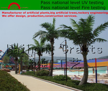 Outdoor artificial plants for theme park/GRC rockery engineering for water park/Artificial big tree