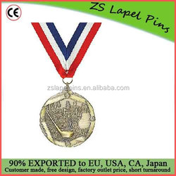 Custom quality free artwork design High Relief Medallion Golf