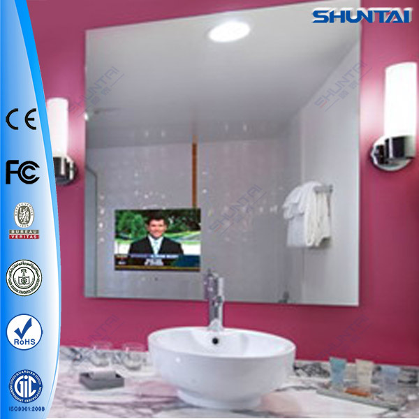 42 polegada manufacturrer tactile publicit cran miroir for Tv ecran plat miroir