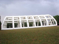giant air seal inflatable square tent for event