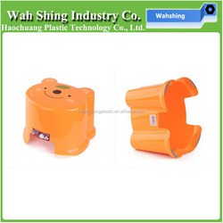 cartoon shape plastic small baby stool baby sit chairs and cheap plastic stools