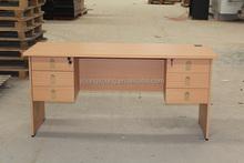 Wooden office furniture standing desk cherry slim computer desk