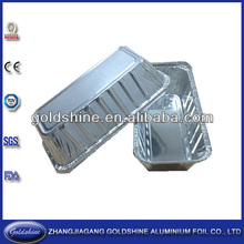 Aluminum foil tray for food packaging