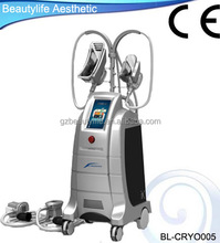 Professional salon use Cryolipolysis system vacuum lipo suction equipment for fat elimination