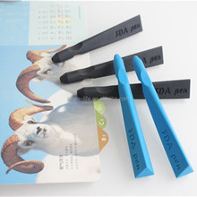School supple creative products eco-friendly soft silicone pen