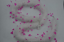 feather boa decorations