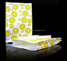 Snack kraft paper packing bag