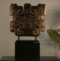 Q802-82 Chinese Handmade Mascot Totem Home Art Decoration
