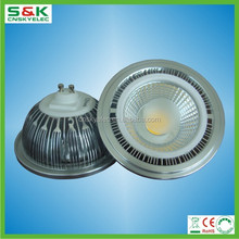 3 years warranty led ar111 lights 0.9 power factor led lamp diameter 111mm