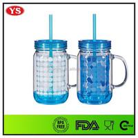 20 oz drink ware plastic drink jar for christmas