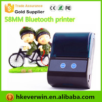 58mm mini handheld Bluetooth Mobile Mini Android Portable ticket Printer / Small Wireless Mobile Android thermal Receipt Printer