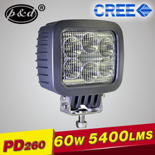 Special C REE 60W wide beam high power LED work light for truck
