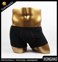 Custom Black cotton adult unisex underwear with elstic band